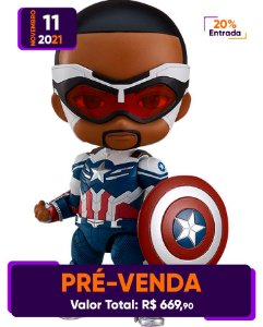 [Pré-venda] Nendoroid #1618-DX Falcon & Winter Soldier: Sam Wilson Captain America
