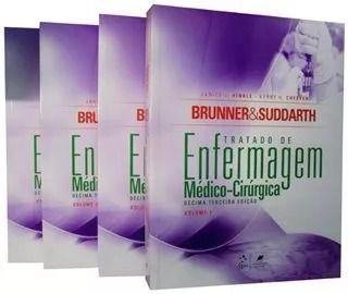 Brunner & Suddart - Tratado de Enfermagem Médico Cirúrgica  - 13ª Edição