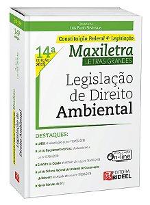 LEGISLAÇÃO DE DIREITO AMBIENTAL- MAXILETRA – CONSTITUIÇÃO FEDERAL + LEGISLAÇÃO 2019