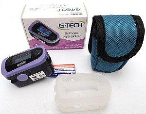 Oxímetro de pulso - G-Tech - Oled Graph