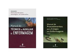 Kit Enfermagem: Manual Do Técnico E Auxiliar de Enfermagem 2ª Edição + Manual de Procedimentos para Estágio
