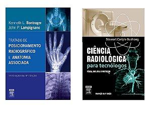 61d593d2e Várias. Kit Radiologia: Bontrager: Tratado De Posicionamento Radiográfico  8ª Edição + Ciência Radiológica Para Tecnólogos