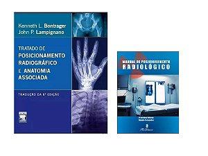 Kit Radiologia: Bontrager: Tratado De Posicionamento Radiográfico 8ª Edição + Manual De Posicionamento Radiológico