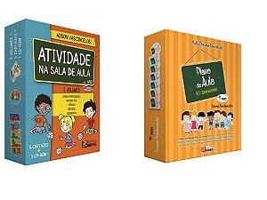 Plano de Aula 40 Semanas - 1º Ano + Coleção Atividade na Sala de Aula  1° Ano Ensino Fundamental