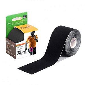 Fita Bandagem Kinésio Tape Tmax Original Preta