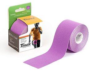 Fita Bandagem Kinésio Tape Tmax Original Lilás