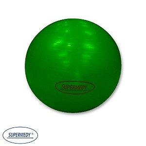 Bola Suíça 75 cm para Ginástica , Yoga , Pilates e Fisioterapia Verde - Supermedy