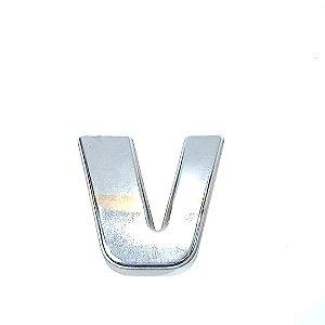 Emblema Grade Iveco Letra V 07 a 17