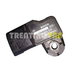 Sensor de Pressão MAP Ducato, Boxer e Jumper 2.8 de 06 a 09