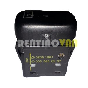 Interruptor do Desembaçante - 0055450307 - Mercedes Benz Sprinter