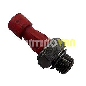 Sensor de Pressão do Óleo (verm.) - F100821 - Iveco Daily / Fiat Ducato