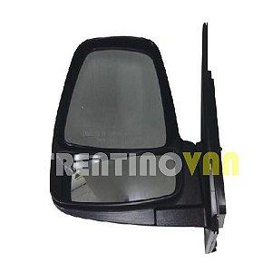 Retrovisor Manual Lado Esquerdo Motorista - Kia Bongo 2008 a 2013