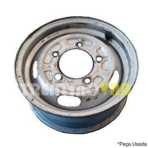 """Roda de Ferro Aro 14"""" - 14x5J - Kia Bongo 2005 a 2011"""