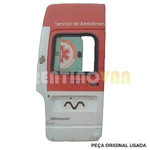 Porta Traseira Master 03 a 12 - Teto Alto Passageiro Lado Esquerdo Ambulância