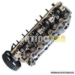 Cabeçote HR Bongo H100 8V - 06 a 12 Com Engrenagem e Comando Retificado Na Troca