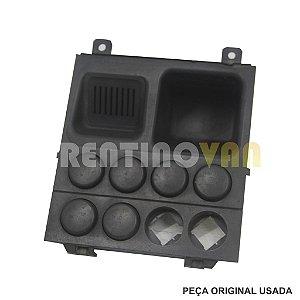 Acabamento Botão Alerta Iveco 35S14 - 05 a 11