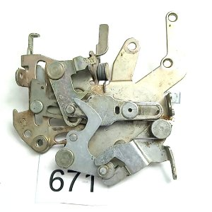 Fechadura Dianteira Porta Correr Sprinter - 97 a 11
