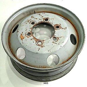 """Roda Ferro Aro 17,5"""" Iveco Daily - 98 a 17 - Aberta"""