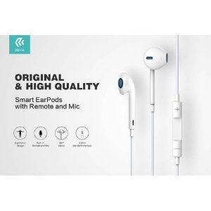 Fone de Ouvido Smart EarPods - Branco