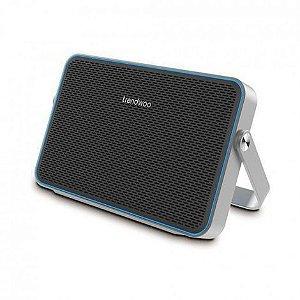 Bluetooth Speaker Ultra-Fino Com alça-suporte - 10w - x-bass - Resistente a água IPX24 - Azul