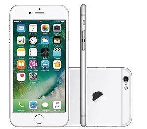 iPhone 6 Plus Prata 16Gb Zero na Caixa + Capa e Película