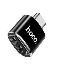 HOCO- - CONVERSOR USB PARA USB-C- BK