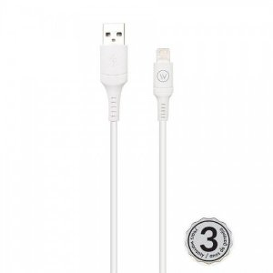 Hard Cable White 2m TPE