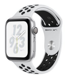 Apple Watch Series 4 44mm Nike+ GPS - Prata