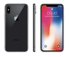 iPhone X 64Gb Preto