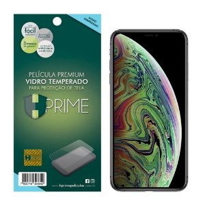 Película de Vidro Temperado HPrime para Apple iPhone XS Max, Transparente, Leve 2 Pague 1