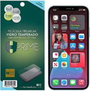Película de Vidro Temperado HPrime para Apple iPhone 12 Pro Max, Transparente, Leve 2 Pague 1