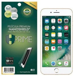 Pelicula NanoShield HPrime para Apple iPhone 6 Plus/6s Plus, Transparente, Leve 2 Pague 1