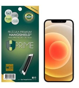 Pelicula Nanoshield HPrime para Apple iPhone 12 mini, Transparente, Leve 2 Pague 1