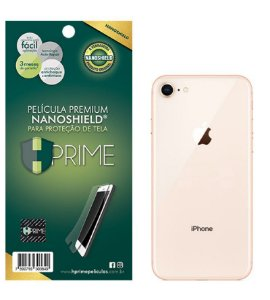Película Nanoshield HPrime para Apple iPhone 8 e SE, Transparente, Leve 2 Pague 1