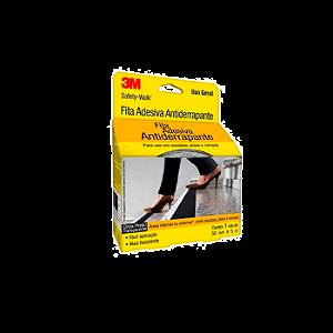Fita Antiderrapante Safety Walk Preta 50mm x 5M 3M