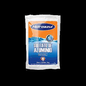 Sulfato de Alumínio Decanta Água Piscina 2kg Hidroazul