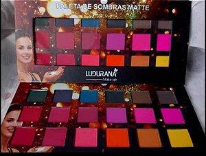 Paleta Sombra matte Ludurana