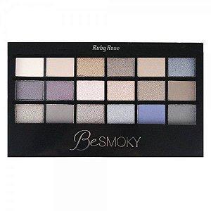 Paleta de sombra Ruby Rose - Besmoky - HB-9926