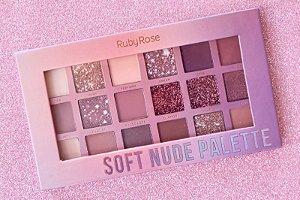 Paleta de sombra soft nude