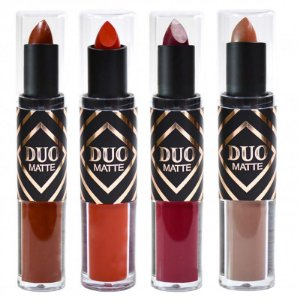 Batom Duo Matte - Ruby Rose