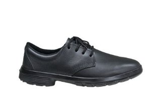 Sapato Social couro  cor preta em cadarço  kadesh