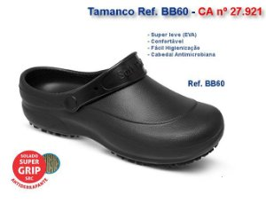 Sandalia Soft works cor preta BB60