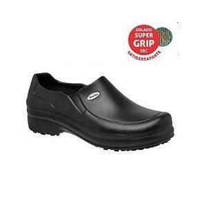 Sapato em EVA Preto Soft Works BB65