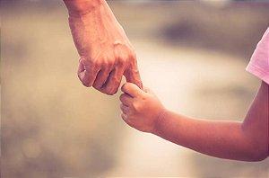 EXAME DE DNA - (Teste de paternidade) DUO - pai e filho(a)