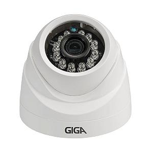 Câmera Giga GS0012 Dome Open HD Plus IR 20M UTC DWDR (1.0MP | 720p | 2.6mm | Plast)