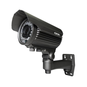 Câmera Giga GS0033 Bullet Varifocal Open HD Sony Exmor IR 50M UTC DWDR IP66 (2.0MP | 1080p | 2.8~12mm | Metal)