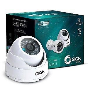 Câmera Giga GS0051 Dome Open HD Sony Starvis IR WDR 30M 4MM IP66 Full HD (2.0MP | 1080P | 4mm | Metal)