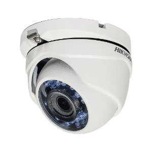 Câmera Hikvision Dome Flex DS-2CE56D0T-IRMF (2.0MP | 1080p | 2.8mm | Metal)