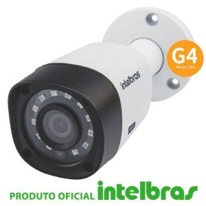 Câmera Intelbras Bullet HD VHD 1010 B Multi HD G4 (1.0MP | 720p | 3.6mm | Plast)