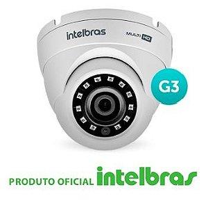 Câmera Intelbras Dome Multi HD 3220D G4 Full HD (2.0MP | 1080p | 2.8mm | Metal)